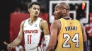 Lakers legend Kobe Bryant gives Hawks' Trae Young advice