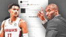 Hawks rookie Trae Young reacts to Kobe Bryant's advice on Twitter