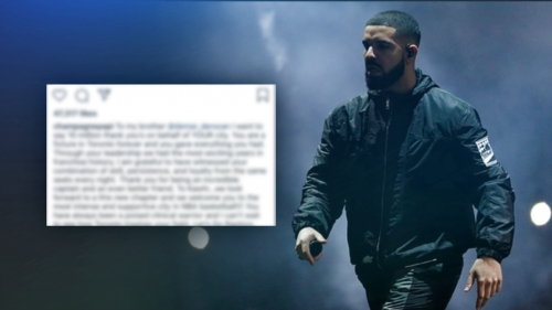 Raptors news: Drake sends message to DeMar DeRozan