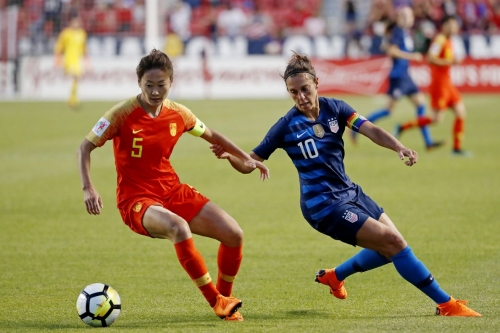 Sky Blue FC's Carli Lloyd Named to Tournament of Nations Training Roster
