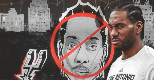 Kawhi Leonard mural given makeover after trade with Raptors
