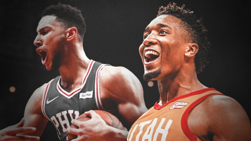 Sixers' Ben Simmons gets roasted at ESPYS, and Donovan Mitchell loved it