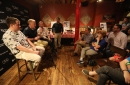 New York Yankees and NY Mets fans meet The Record sports writers at Dinosaur Bar-B-Que