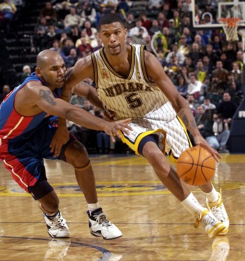 Former Indiana Pacers player Jalen Rose recently married