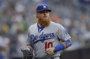 Dodgers' Justin Turner still limited by leg injury