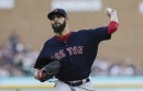 David Price pitches 6.1 scoreless innings as Boston Red Sox beat Tigers; Steve Pearce knocks in game's long run