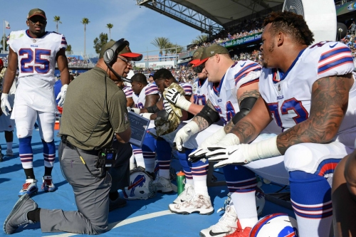 Free agent offensive linemen the Bills could look at before training camp