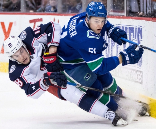 Canucks sign defenceman Troy Stecher to 2-year deal