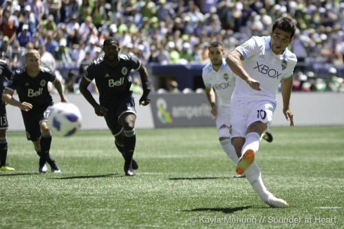 Sounders versus Whitecaps, recap: Roll on, Sounders, roll on