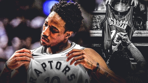 DeMar DeRozan officially says goodbye to Toronto after Raptors trade