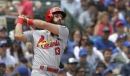 DeJong's double, another Carpenter home rally Cardinals to split doubleheader vs. Cubs
