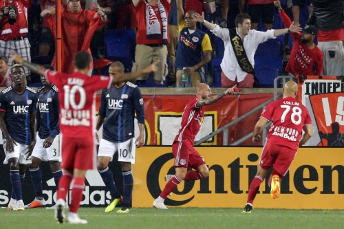 Red Bulls washes out the Revolution