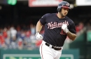 Nationals' lineup vs Braves: Matt Adams back in at first base...