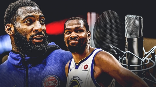 Pistons' Andre Drummond wants to record rap songs with Kevin Durant and other NBA stars