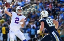 Bills quarterback Nathan Peterman puts 5-interception game behind him in quest to start