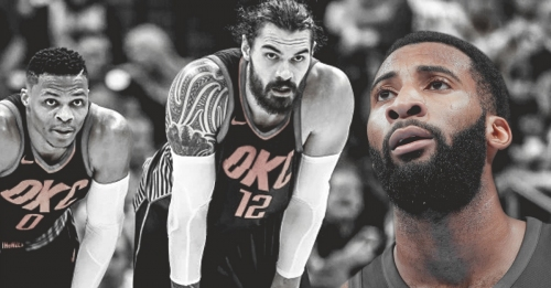 Andre Drummond doesn't think Steven Adams would lead NBA in rebounds without Russell Westbrook
