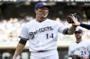 Dodgers News: Austin Barnes, Alex Wood Describe At-Bats Against Brewers' Hernan Perez