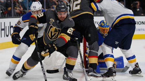 Golden Knights re-sign forward William Carrier to two-year contract