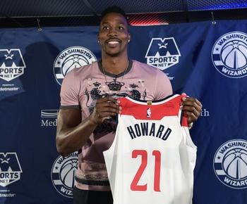 Dwight Howard aims for career-finishing run with Wizards