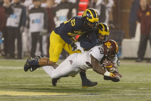 Michigan football's Tyree Kinnel: Safeties 'weren't much help' in slot