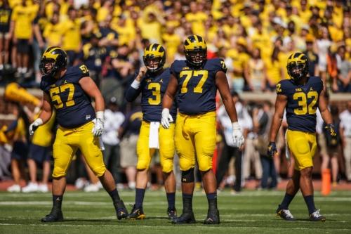 Michigan football notes: Jim Harbaugh hopeful for Grant Newsome's return