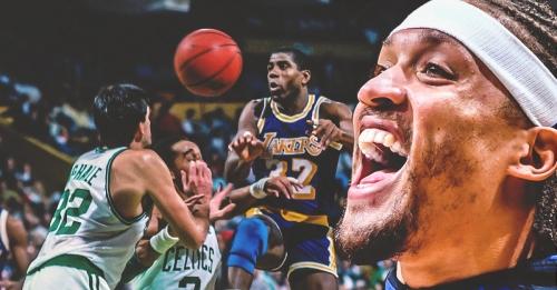 Lakers forward Michael Beasley calls playing for Magic Johnson 'surreal'