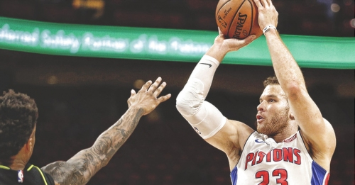 Blake Griffin looks to add the 3-pointer to his arsenal