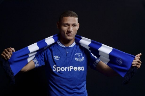 Everton FC complete signing of Richarlison from Watford