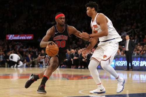 The Knicks have signed Noah Vonleh