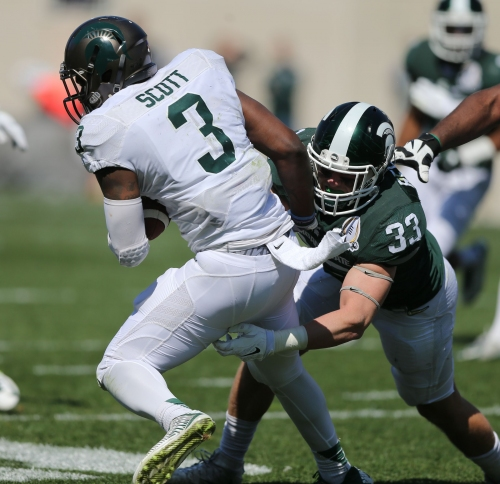 Black Michigan State football players unanimous for Jon Reschke's return