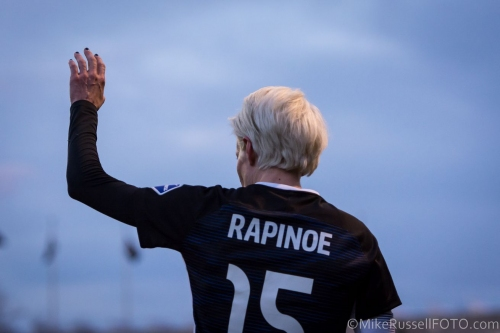 Megan Rapinoe nominated for FIFA Women's Player of the Year