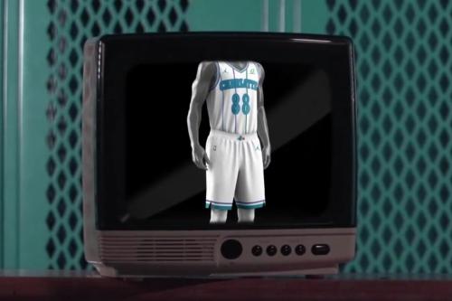 Charlotte Hornets unveil new classic white pinstripe uniform