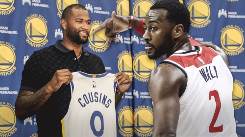 John Wall shocked after finding out DeMarcus Cousins joined Warriors