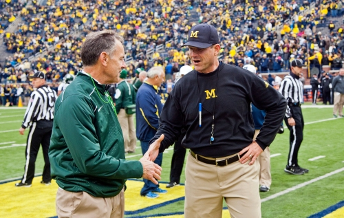 Top 20 2018 college football games with Michigan schools