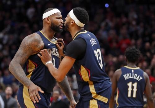Pelicans' Davis surprised by team's free-agency losses