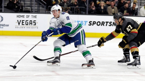 Canucks' Jake Virtanen working with YouTube star to improve hands