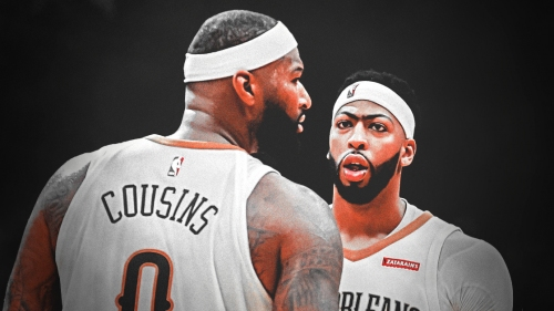 Pelicans' Anthony Davis learned about DeMarcus Cousins-Warriors deal on TV