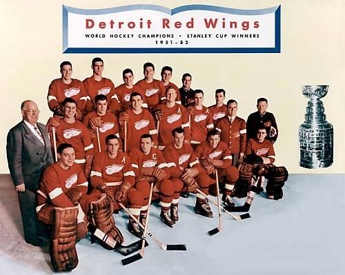 Franchise Best: Detroit Red Wings 1951-52 Season