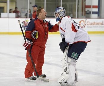 Islanders hire Caps' Mitch Korn as director of goaltending