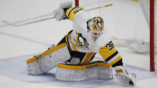 Penguins re-sign Tristan Jarry to 2-year deal