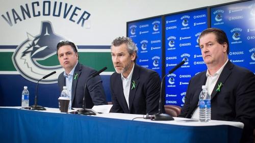 Canucks GM Benning, coach Green discuss 'tough' Linden situation