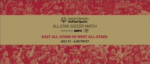 A VERY SPECIAL GAME: Special Olympics Unified Sports all-star match set for Tuesday