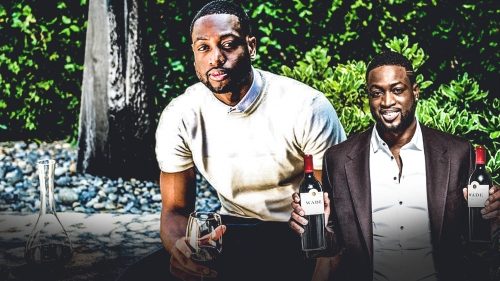 Heat legend Dwyane Wade says wine is taking over the NBA