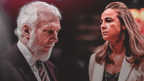 Gregg Popovich compliments Becky Hammon after most recent promotion
