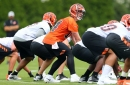 """Bengals' battle for right tackle and right guard starters will """"take as long as it takes"""""""