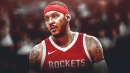 Rockets players feel 'very positive' about looming Carmelo Anthony addition