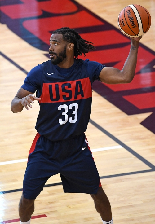 Grizzlies' Mike Conley, limited in USA Basketball minicamp, expects to be ready for training camp