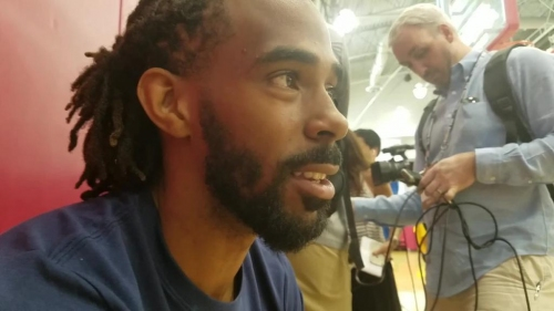 Mike Conley discusses USA basketball experience, Grizzlies rookies and his injury recovery