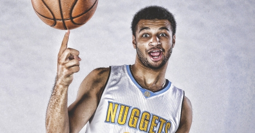 Nuggets talent Jamal Murray says he loves his job