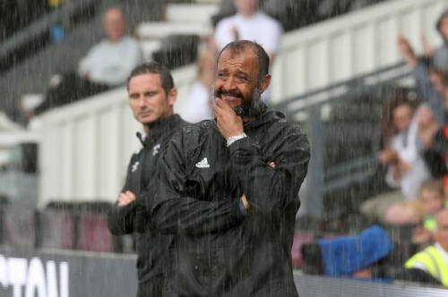 Nuno's touchline tantrum & Moutinho's magic - what we spotted as Derby County beat Wolves